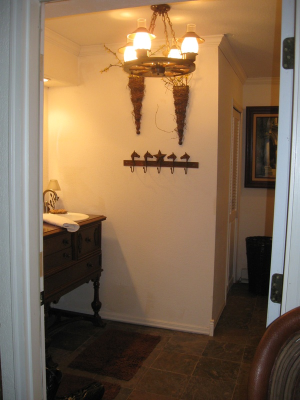 New guest bathroom